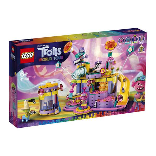 레고 LEGO 트롤 바이브 시티 콘서트 41258 (반품/스티커접힘)