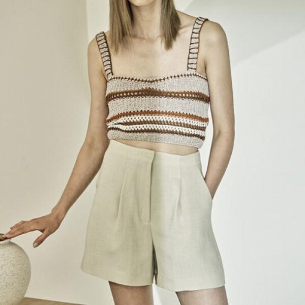 Summer Pleated Shorts 시원한 여성 팬츠