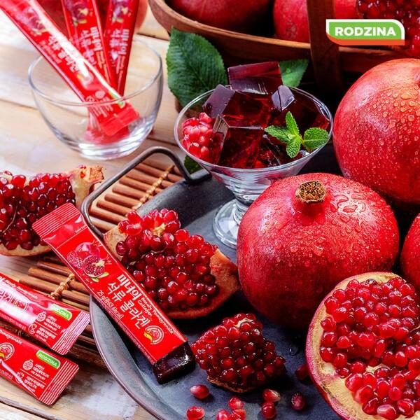 피부건강을 위한 필수품!! 로지나 미녀의 석류콜라겐 젤리 25g X 25포