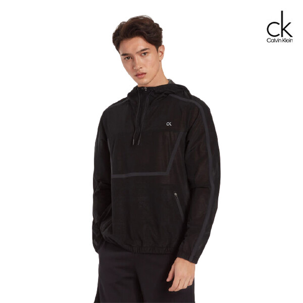 Calvin Klein 캘빈클라인 남성 엑스레이 테크 아노락 4MS9O5400070(블랙)