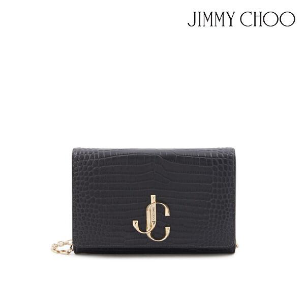 JIMMY CHOO 지미추 Varenne Clutch Bag 체인 클러치백 (색상: Dusk)