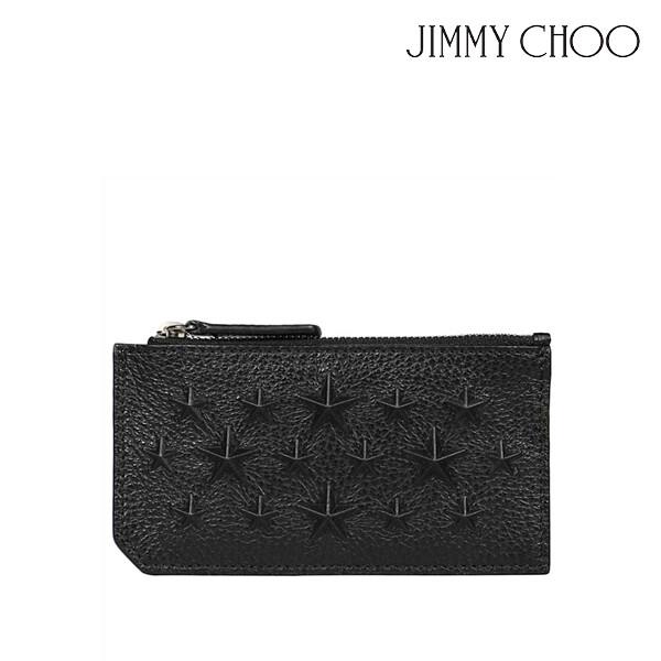 JIMMY CHOO 지미추 CASEY EMG Card holder 카드지갑 (색상: BLACK)