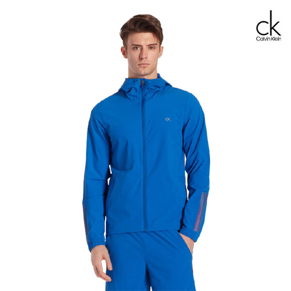 Calvin Klein 캘빈클라인 남성 바람막이 후드 재킷 4MS0O603 (다크블루)