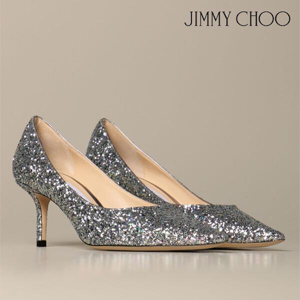 JIMMY CHOO 지미추 Love Jimmy Choo glitter pumps 글리터 펌프스 힐 (색상: SKY MIX)