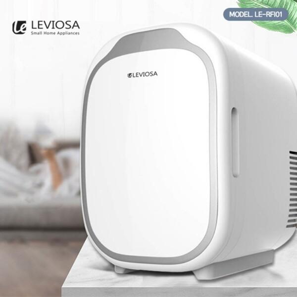 친환경 냉/온장고 차량용 가정용 레비오사 멀티미니냉장고 6L LE-RFI01