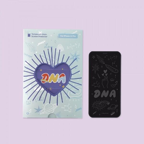 방탄소년단 굿즈 BTS DNA 강화유리필름 아이폰 액정보호필름