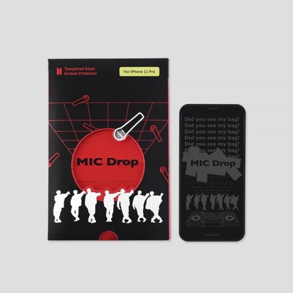 방탄소년단 굿즈 스마트폰 BTS MIC Drop 강화유리필름