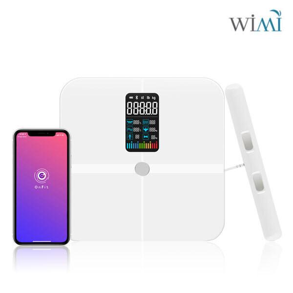 블루투스 앱연동 충전식 그립핏 스마트 인바디 체중계 WIMI-103