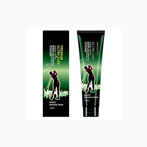뉴질랜드 마오리 초록입 홍합 마사지크림 전신 바디 근육통 쿨링 스포츠 마사지젤 120ML