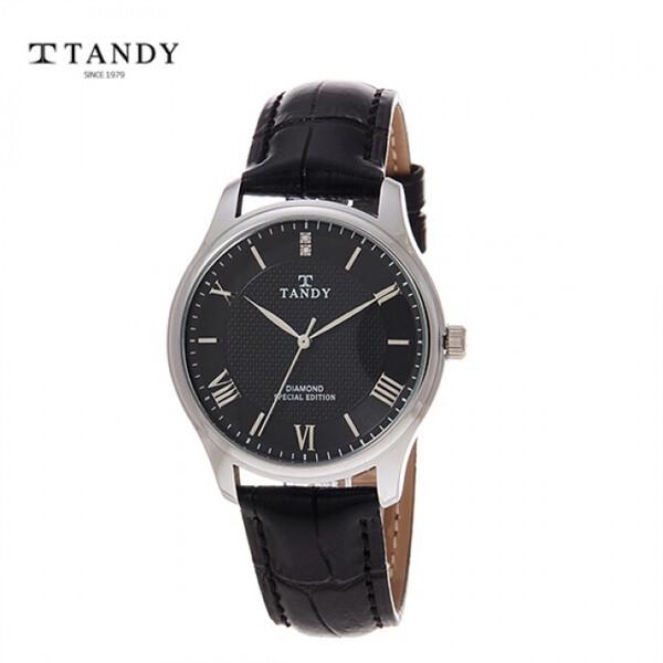 탠디 다이아몬드 가죽시계 T-1663 (남자용/여자용)