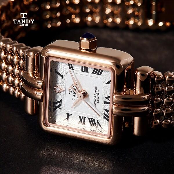 탠디 프린세스다이아몬드 여성메탈시계 T-4021