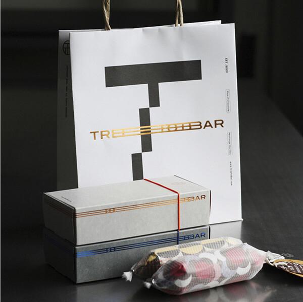 [1+1] 최고급 수제 초콜릿 트리투바 살라미 (총 화이트 2개 + 밀크 2개 / 선물 박스 + 쇼핑백 포함)_리씽크팀
