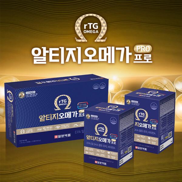 일양약품 알티지오메가프로 1,120mg x 30캡슐 x 3SET(3개월분)