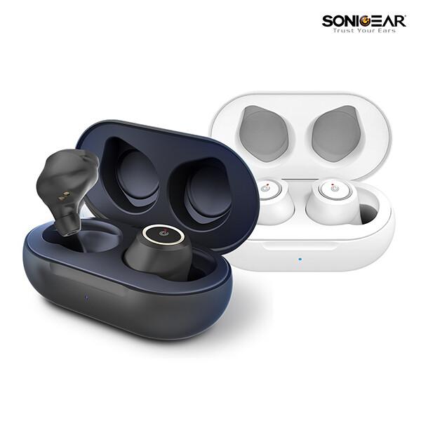 소닉기어 이어펌프 TWS2 블루투스5.0  무선 이어폰 (블랙/화이트)