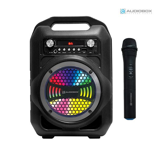 오디오박스 BBX600 붐박스 멀티 노래방 블루투스 스피커