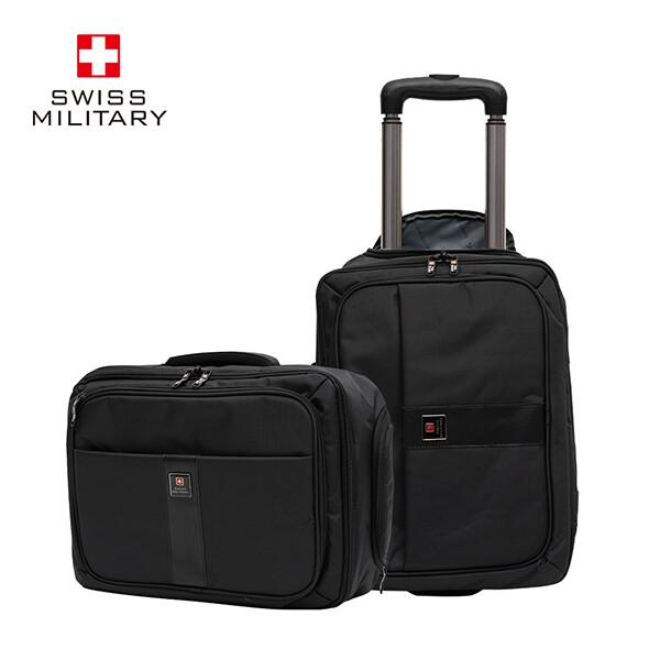 내 맘대로 변형이 가능한 스위스밀리터리 비지니스 브리핑 16.8인치 여행용 가방!(레인커버 포함)