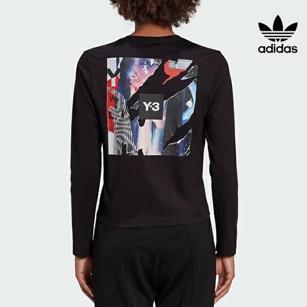 뉴욕 센추리21 X 리씽크 공식 리미티드에디션! 아디다스 ORIGINALS X Y-3 CH1 GFX LS TEE 프린트 긴팔 셔츠 GK4395