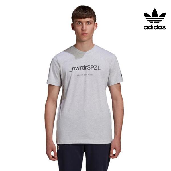 뉴욕 센추리21 X 리씽크 공식 리미티드에디션! 아디다스 ORIGINALS X TEE NORDER SPZL 반팔 티셔츠 GK5736