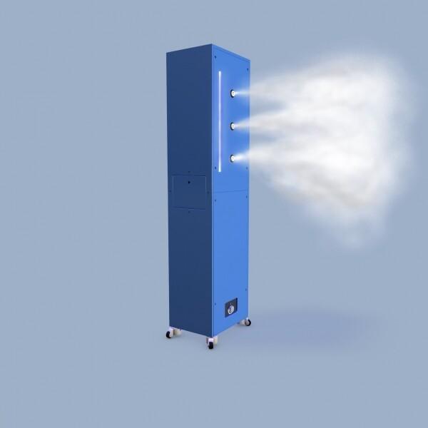 제피로스 퀸 타워형 자동방역 출입문 전신소독기 (전국 무료배송/살균수 20L 2통 증정!)