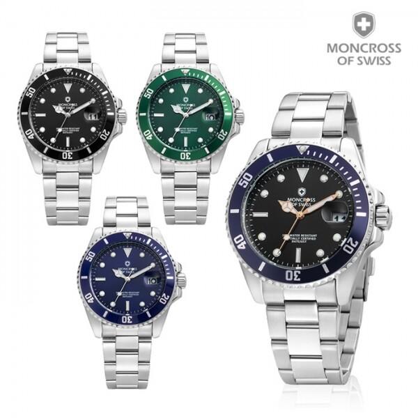 선물추천! 스위스 명품 MONCROSS 남성시계 MS32050M