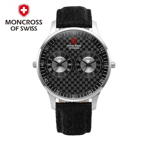 스위스 명품 MONCROSS 남성시계 MS17110 M-BK 블랙