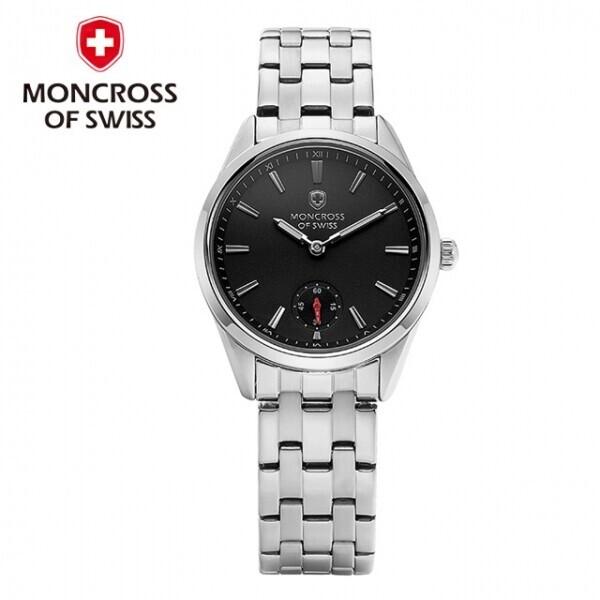 스위스 명품 MONCROSS 여성시계 MS3810F (블랙,화이트,블루)