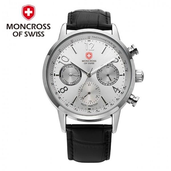 스위스 명품 MONCROSS 남성시계 MS6001M WT 화이트