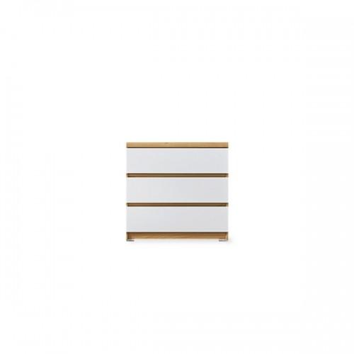 아벨 800 3단서랍장 4color (멀바우.아카시아,아카시아화이트,화이트)