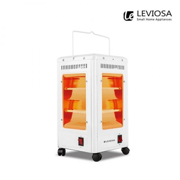 요즘대세 ~ 레비오사 오방향 전기히터 LVH-R500DN (360도회전/5방향파워난방/개별난방)