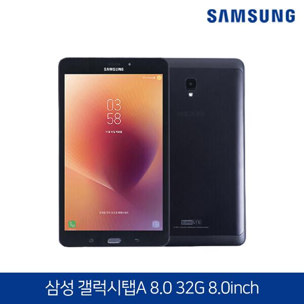 새것같은 A그레이드 삼성전자 갤럭시탭A 8.0 SM-T385 블랙 32G (WiFi+LTE/구성품 : 단말기+C타입충전기+전원케이블+보호필름+고급전용케이스)