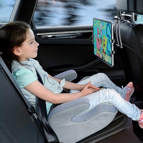 차량용 헤드레스트 휴대폰 태블릿 거치대 고급형 아이노아 블랙 (지금구매시 폰 거치대 블랙/화이트 랜덤 증정)