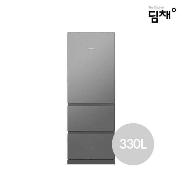 2020년형 위니아딤채 김치냉장고 BDT33DKGSM (330L/에너지효율1등급/인버터절전컴프레서/냉장+냉동)