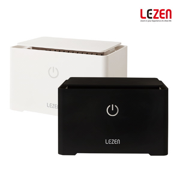LEZEN 르젠 가정용 초음파 세척기 LZWS-W01 (블랙,화이트)