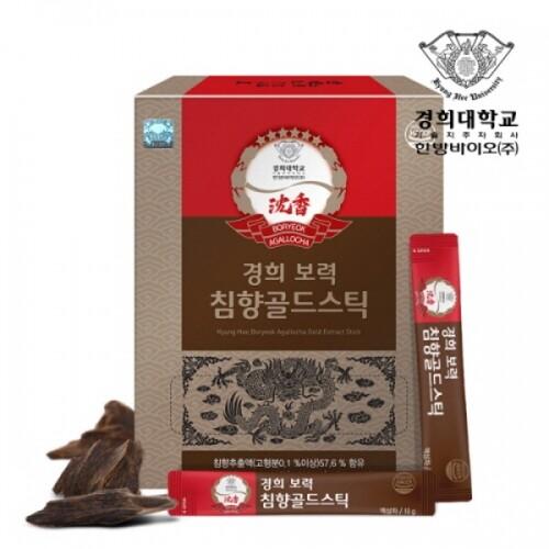 경희대학교 경희 보력 침향골드스틱 1박스 (10g*100포)
