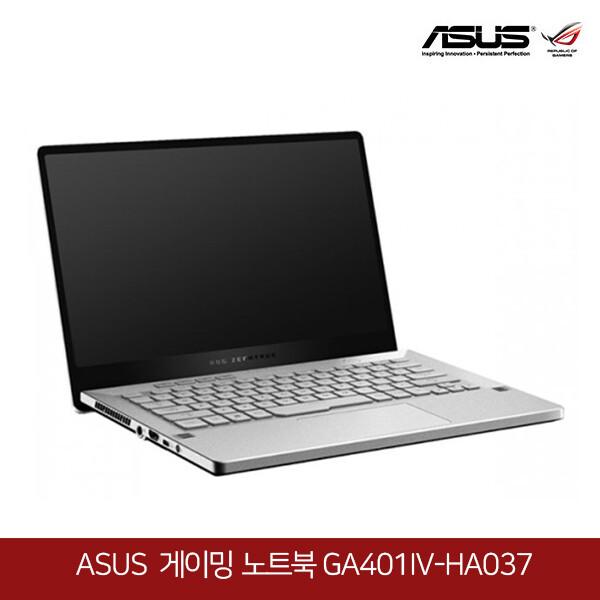 아수스 공식리퍼상품~게이밍 노트북 ASUS ROG 제피러스 G GA401IV-HA037 ( 라이젠9-4900HS/램16G/M.2 1TB/RTX2060 Max-Q/14인치QHD 2560x1440/프리도스)