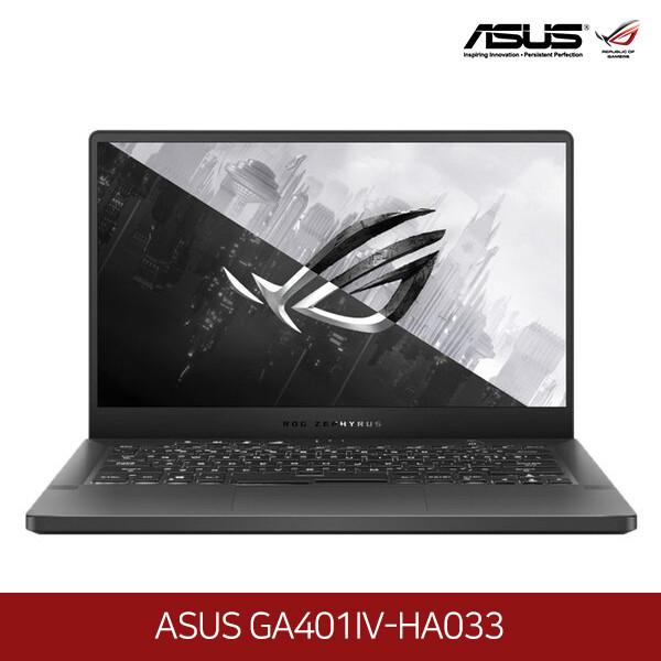아수스 공식리퍼상품~노트북 ASUS GA401IV-HA033 (라이젠9-4900HS 3.3GHZ/램16G/M.2 1TB/RTX2060/14인치2560x1440 QHD/프리도스)