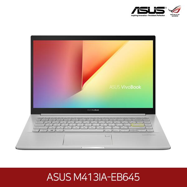 아수스 공식리퍼상품~노트북 ASUS M413IA-EB645 (라이젠7-4700U 2.0GHZ/램8G/M.2 512GB/Radeon Graphis/14인치1920x1080 FHD/프리도스)