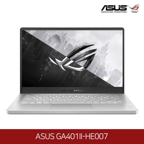 아수스 공식리퍼상품~노트북 ASUS GA401II-HE007 (라이젠7-4800HS 2.9GHZ/램8G/M.2 1TB /GTX1650 TI/14인치 1920x1080 FHD/프리도스)