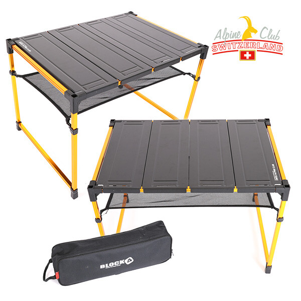 스위스 알파인클럽 블록 시스템 테이블 6단 AC-BT006