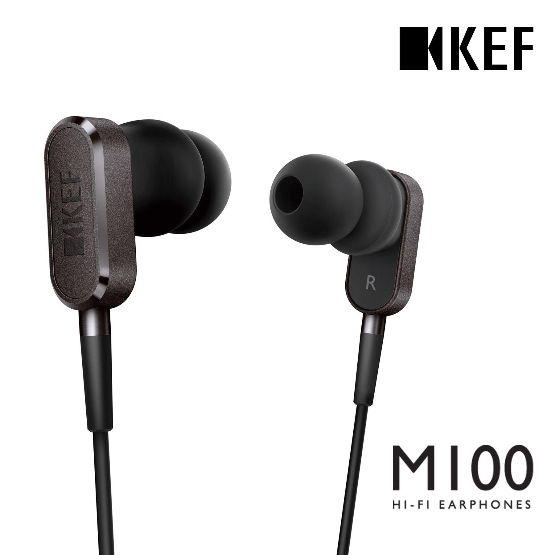 영국 KEF 데일리 프리미엄 인이어 이어폰 M100